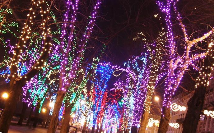 Комплект клип-лайта для подсветки деревьев