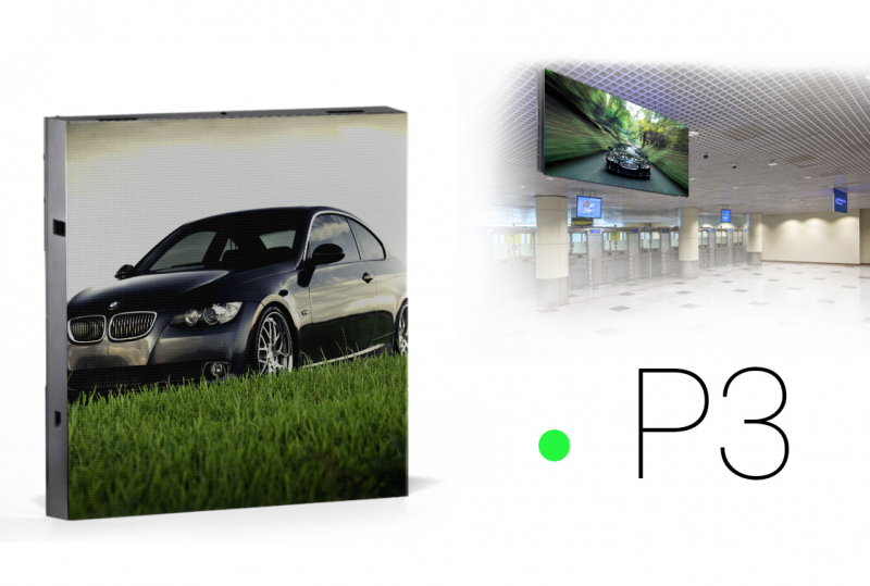 Led экраны для помещений P3