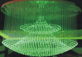 Светодиодная люстра, диаметр 1000 мм, высота 1200 мм