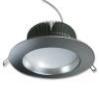 Встраиваемый светодиодный даунлайт серебристый корпус, 6000К, Внешний диаметр  138 мм, 1100 Люмен, 19 Вт, 220 Вольт