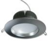 Встраиваемый светодиодный даунлайт серебристый корпус, 6000К, Внешний диаметр 110 мм, 690 Люмен, 12 Вт, 220 Вольт
