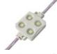 Светодиодный модуль, 4 х 3528 SMD, чипы Epistar, 0.48 Ватт, 12 Вольт, цвет белый