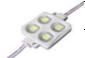 Светодиодный модуль повышенной яркости, 4 x 5050 SMD, чипы Epistar, 0.6 Ватт, 12 Вольт, цвет белый