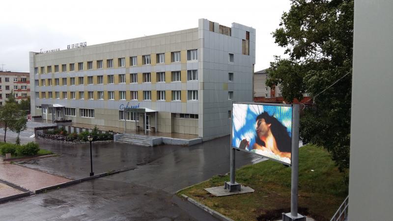 г. Хабаровск, Уличный рекламный экран