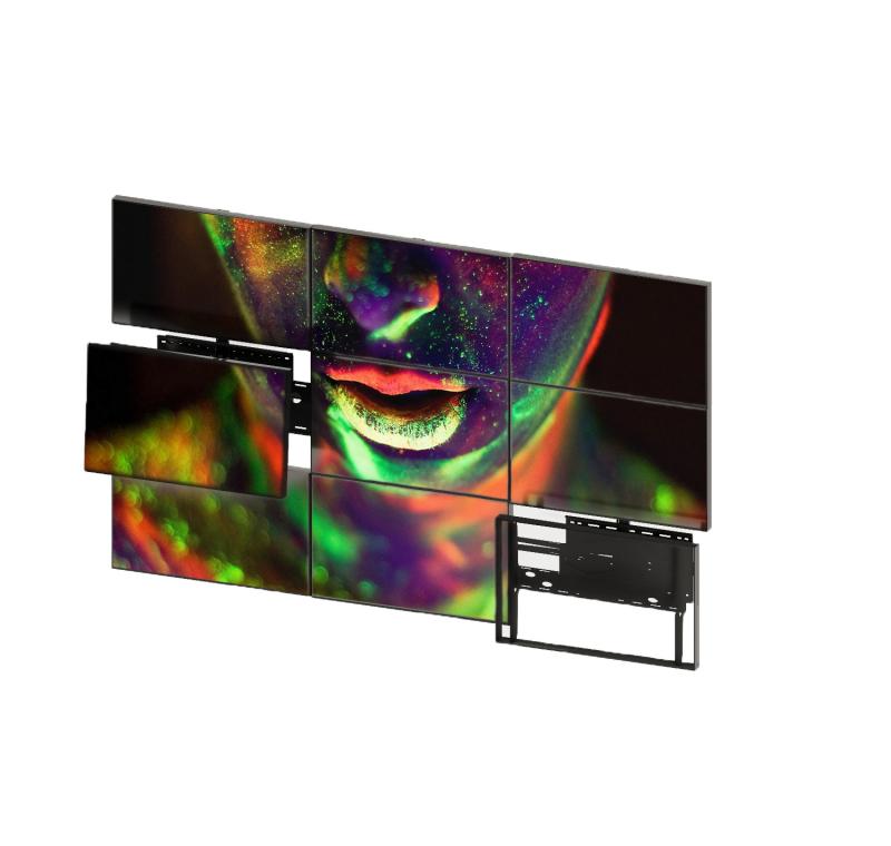 """LCD панель нового поколения 55"""" (16:9) для видеостен / рамка 8мм"""