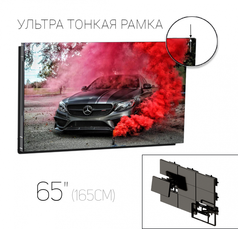 LCD панель для торгового центра