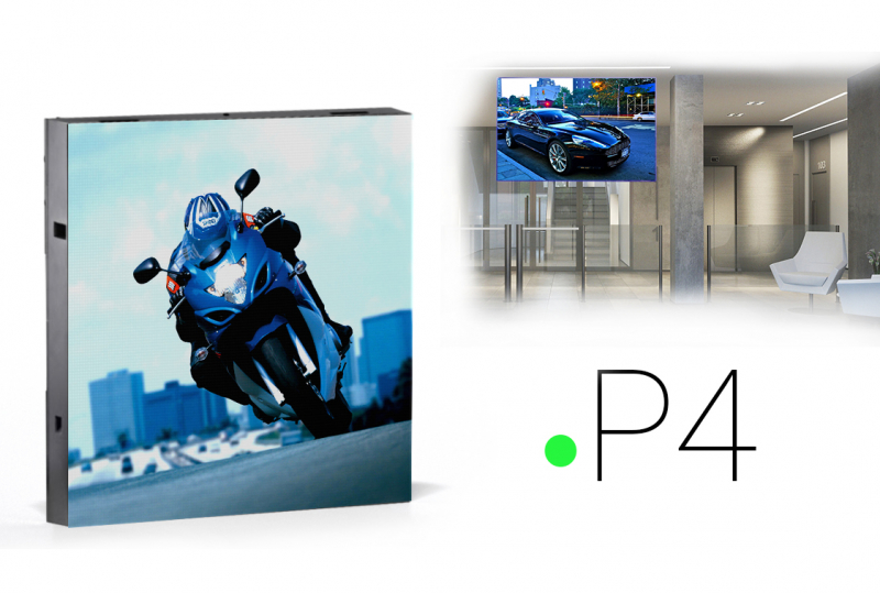led экраны для помещений P4