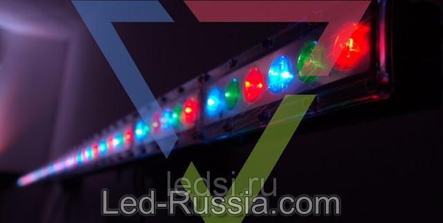 Светодиодный прожектор FL-6100R1