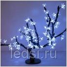 Светодиодный световой куст 'Сакура'  96 лепестков