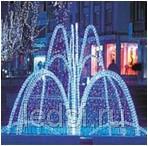 Светдиодный фонтан