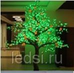 Световое светодиодное дерево 'Апельсиновое'