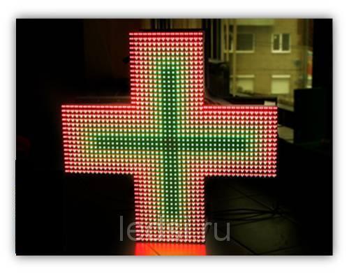 LED крест для помещений