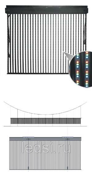 Светодиодные видеоперетяжки LED-poster