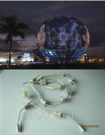 LED Pixel Light Source Protection