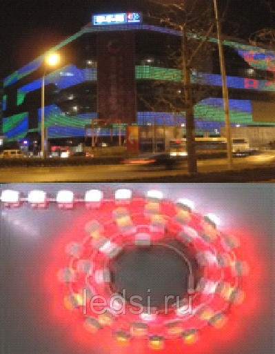 LED Pixel Light Source