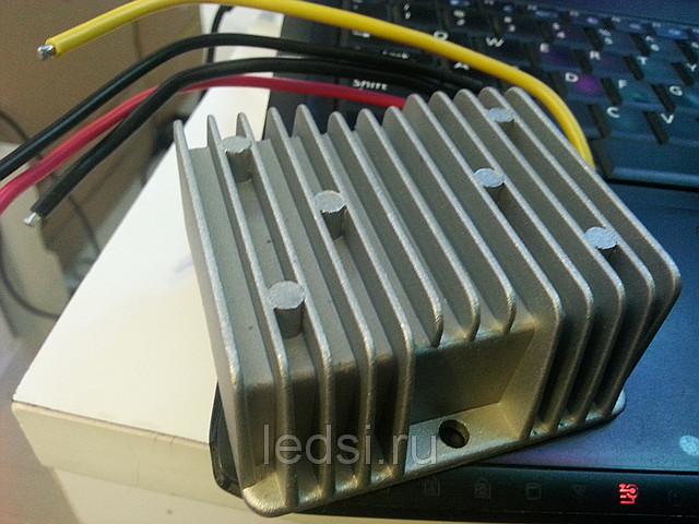 Внешний трансформатор 12V в 5V для автомобильных модулей