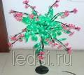 Светодиодное дерево 'great luck' 90*60 см
