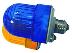 Строб-гирлянда: 12 строб-ламп, угол обзора 360 градусов, длина 4м, морозост.провод