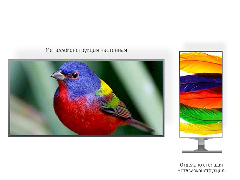 Светодиодный экран для помещения 3*1 м