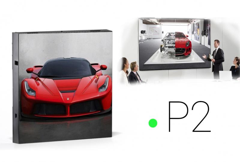 led экраны для помещений P2