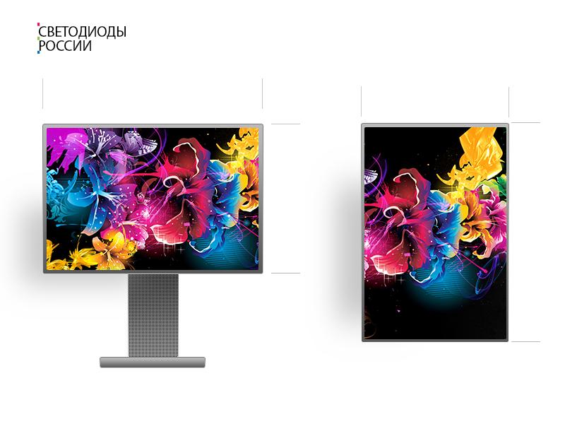 Led экран для помещения 4*2 м
