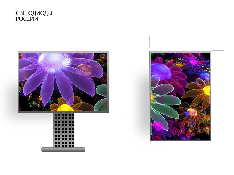 led экран 3 * 2 м