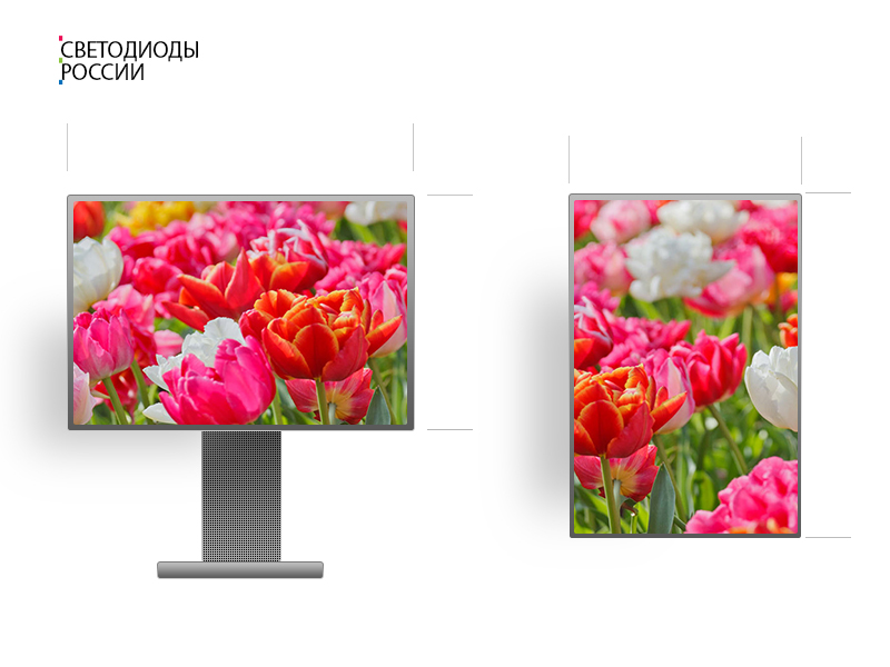 Рекламный экран P6