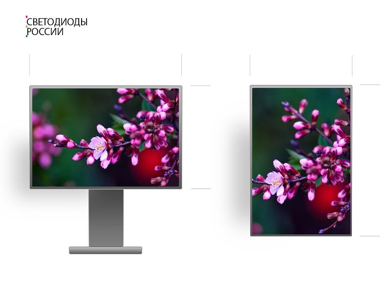 Рекламный телевизор 6 * 3 м