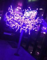 Светодиодное световое дерево синее 'Сакура', 972 лепестка