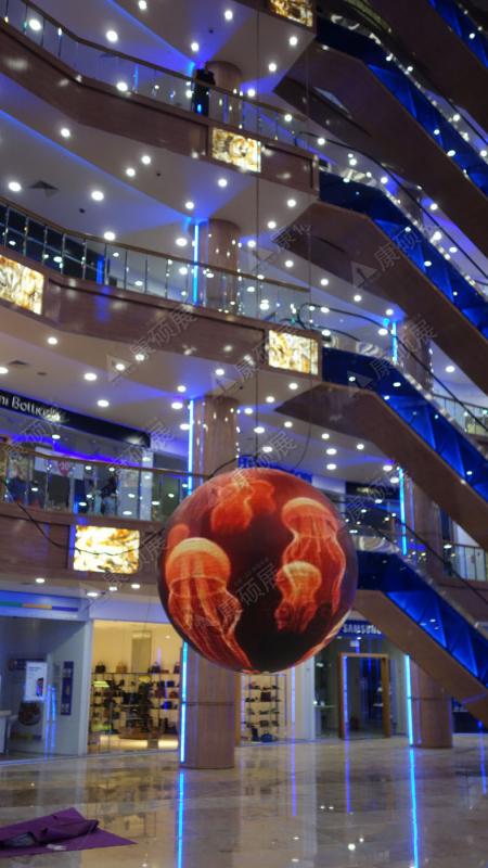 Светодиодный шар экран. Видеошар.