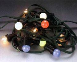 Белт-лайт 5-пров., пластиковый провод с цоколями. расст.м/у цоколями 15 см