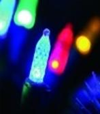 """Гирлянда для помещений """"Еловые шишки"""" со сменными светодиодами, 8 метров: RGB, желтый, белый"""