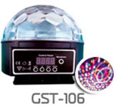 "Светодиодная система Funray GST106 ""Танец колец"", 6 цветов, 220V"