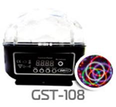 "Светодиодная система Funray GST108 ""Танец жар-птицы"", 6 цветов, 220V"