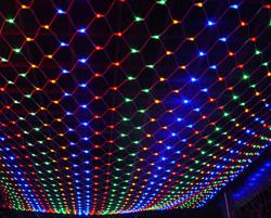 Сетка 320 LED Мульти, 3*2м