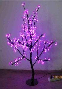 """Световое дерево """"Индиго"""",       высота 1,0 м"""