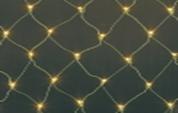 Светодиодная сетка, 2.4 х 1.2 метра, желтая, белая