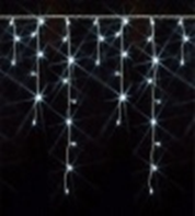 Светодиодная бахрома 4,8 х 0,6 метра, (RGB, желтая, белая, синяя)