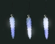 Светодиодные сосульки со светодинамикой, 4.5 метра,  создает эффект тающих сосулек (синие)