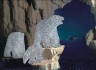 """Световая фигура                """"Медвежонок Умка"""",             высота 0,4 м"""