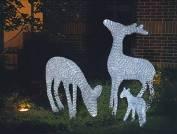 """Световая фигура """"Северный олень, высота 0,6 м"""