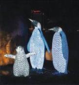 """Световая фигура """"Пингвин"""",  высота 1,27 м"""