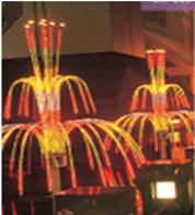 "Светодиодный фейерверк ""Магнолия"", размер 2,6 х 3 х 2,8 метра, 125 Вт, без опоры"