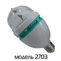 """Светодиодная система Funray GST-2703 """"Цветной дождь"""", цоколь Е27+переходник c сетевым шнуром"""