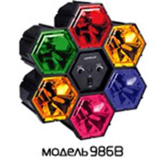 Цветомузыка 220V 40W Funray-986B. Музыкальная молния.  (шт.) стробоскопы
