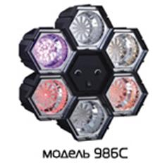 Цветомузыка 220V 5W Funray-986C. Музыкальная радуга.  (шт.) светодиоды