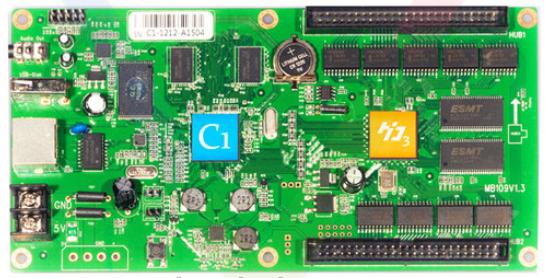 Плата контроллер HD-C1